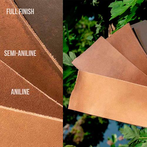 Leather Finishes Upholstery Malaysia HHL Semi Aniline