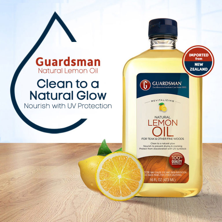 Guardsman Revitalising Lemon Oil